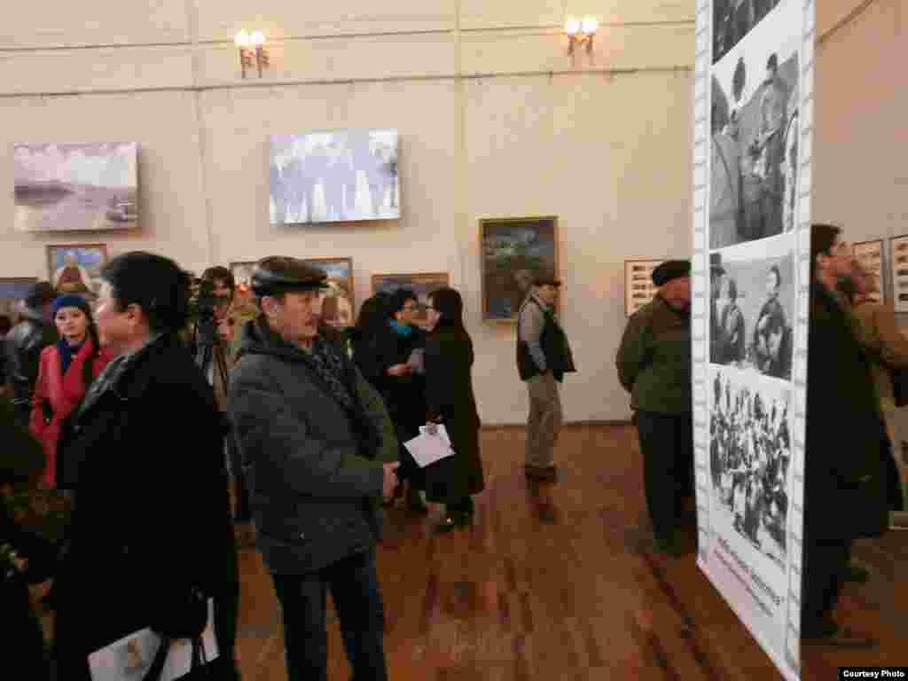 Kyrgyzstan - photo exhibition in Bishkek, undated