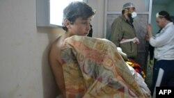 У лікарні в Сарміні до бомбардування, архівне фото