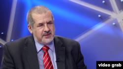 Қырым татарлары меджлисінің төрағасы Рефат Чубаров.