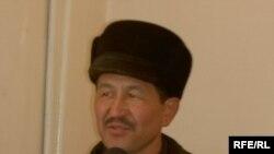 Opposition member Abdymamet Zakirov