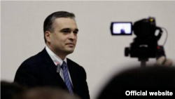 Azerbaijani oppositionist Ilqar Mammadov (file photo)