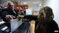 Votimet në Graçanice, foto nga arkivi