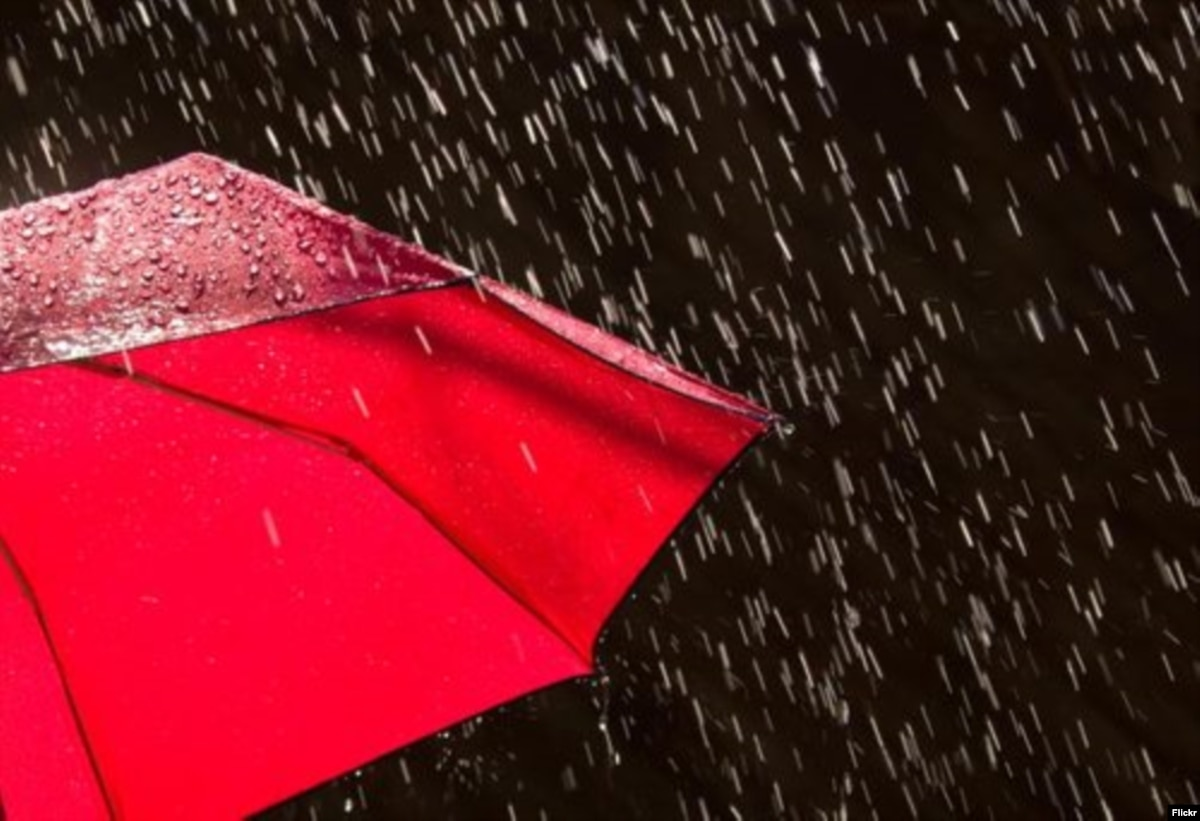 В Украине на выходных будет дождливо