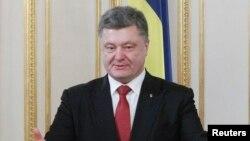 Президент Украины Петр Порошенко. Киев, 5 февраля 2015 года.