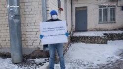 В Кирове снова бросили кирпич в правительство