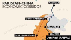 Кытай менен Пакистанды туташтыруучу экономикалык коридор