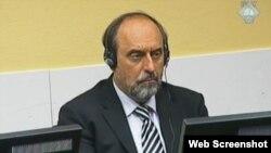 Goran Hadžić u sudnici, 2013.