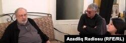Rüstəm İbrahimbəyov, Eldar Namazov və Şahnaz Bəylərqızı
