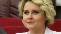 Moscow-based businesswoman Yulia Serebryanskaya has been linked with a network of companies behind a disinformation campaign aimed at discrediting some Western COVID vaccines. (file photo)