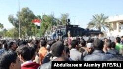 متظاهرون في البصرة