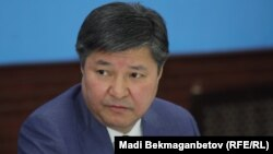 Бас прокурор Жақып Асанов. Астана, 3 қараша 2016 жыл.