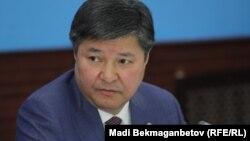 Қазақстан бас прокурор Жақып Асанов. Астана, 3 қараша 2016 жыл.