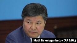 Жакип Асанов в бытность генеральным прокурором Казахстана.