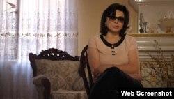 """Лариса Кудзиева, скриншот с ТК """"Осетия-Ирыстон"""""""