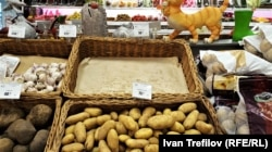 В московском магазине дешевого картофеля уже не осталось