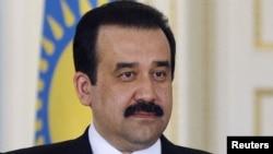 Incoming Kazakh Prime Minister Karim Masimov
