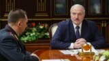 BELARUS --Belarusian President Alyaksandr Lukashenka meets with newly-appointed Interior Minister Ivan Kubrakou in Minsk, October 29, 2020