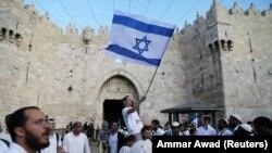 Израильские евреи отмечают День Иерусалима. 13 мая
