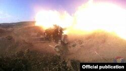 Учения Армии обороны Нагорного Карабаха