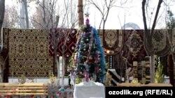Базардагы балаты. Ташкент. 2020-жыл.