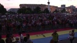 VIDEO Cazul Caracal: Filmul complet al protestului din București