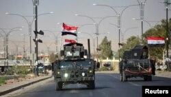 Іракські урядові сили входять до міста Кіркук, 16 жовтня 2017 року