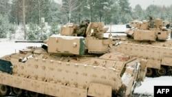 ABŞ tankları, Latviya, 21 noyabr 2014