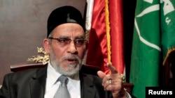 محمد بدیع، رهبر گروه اخوان المسلمین مصر