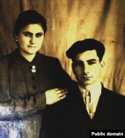 Февзі Сейдалієв з дружиною Гульнарою
