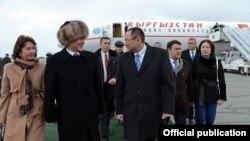 Президенттин Өзбекстандагы сапары. 24-декабрь, 2016-жыл.