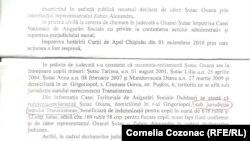 """Decizia instanţei moldoveneşti în care se vorbeste desptre """"statul Transnistrean"""""""
