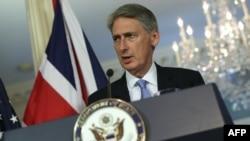 فیلیپ هاموند، وزیر امور خارجه بریتانیا