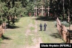 Аллея в мемориальном комплексе Куропаты, 1 июня 2018 года. Фото: svaboda.org