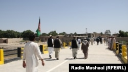 constriction of Aioubkhil Bridge in Khost.09-06-2015