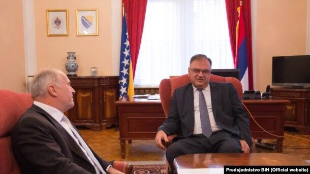 """Mladen Ivanić Inzkovu izjavu ocijenio kao """"jednu od najgnusnijih koja se mogla čuti od osobe koja predstavlja međunarodnu zajednicu u BiH"""""""