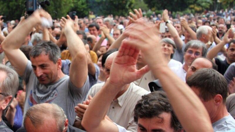 Премьер-министр Абхазии Леонид Лакербая ушёл в отставку