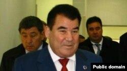 Türkmenistanyň öňki prezidenti Saparmyrat Nyýazow.