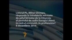 În profunzime: În dialog cu Mihai Ghimpu
