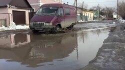 Половина улиц в Уральске просит асфальта
