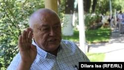 Активист и председатель общественного объединения «Қадырменді қариялар» Шаруа Пирмат.