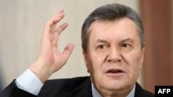 Віктор Янукович, який, за останніми даними, перебуває в Росії