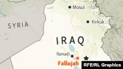 Infographic - Fallujah Iraq Locator Map