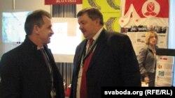 Анатоль Лябедзька і Сяргей Калякін