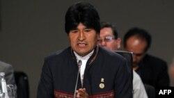 Эво Моралес, президент Боливии.