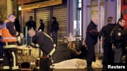 Стрілянина та вибухи у Парижі (фотогалерея)