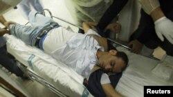 Столица Бахрейна Манама: раненый демонстрант