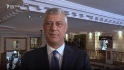 Thaçi: Marrëveshja për hekurudhat, mesazh për paqe