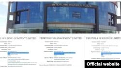 Зарегистрированные на Кипре компании Бахтиёра Фазылова находятся по одному и тому же адресу и имеют одного и того же управляющего.