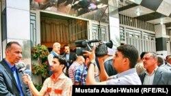 صحفيون في كربلاء