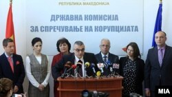 Претседателот на Државната комисија за спречување корупција Горан Миленков.